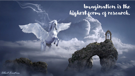 Imagination Is The Highest Form of Research