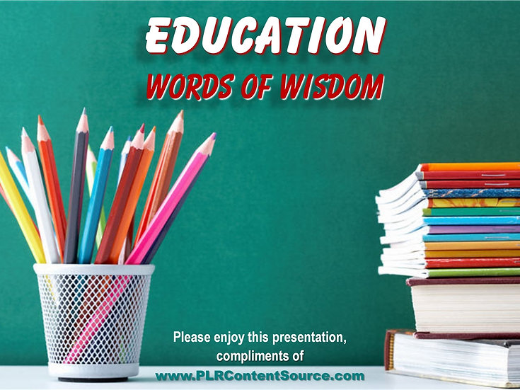 Education Photo Quote Collection