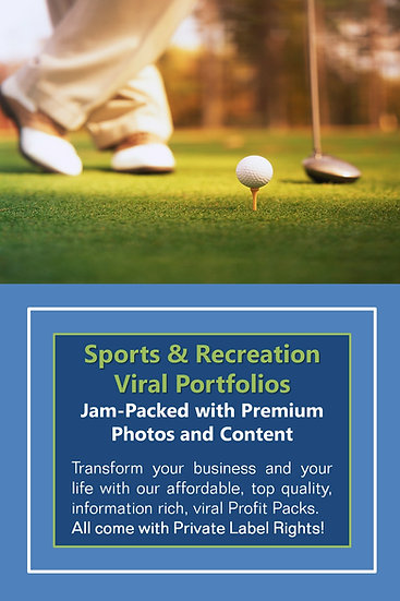 Sports and Recreation Niche Domination Pack