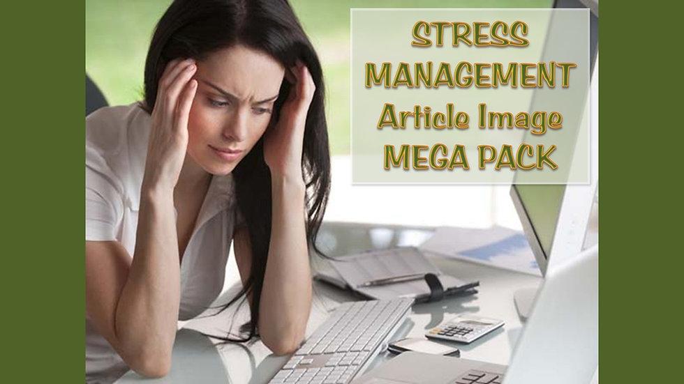 Stress Management PLR Article and Image MEGA Pack
