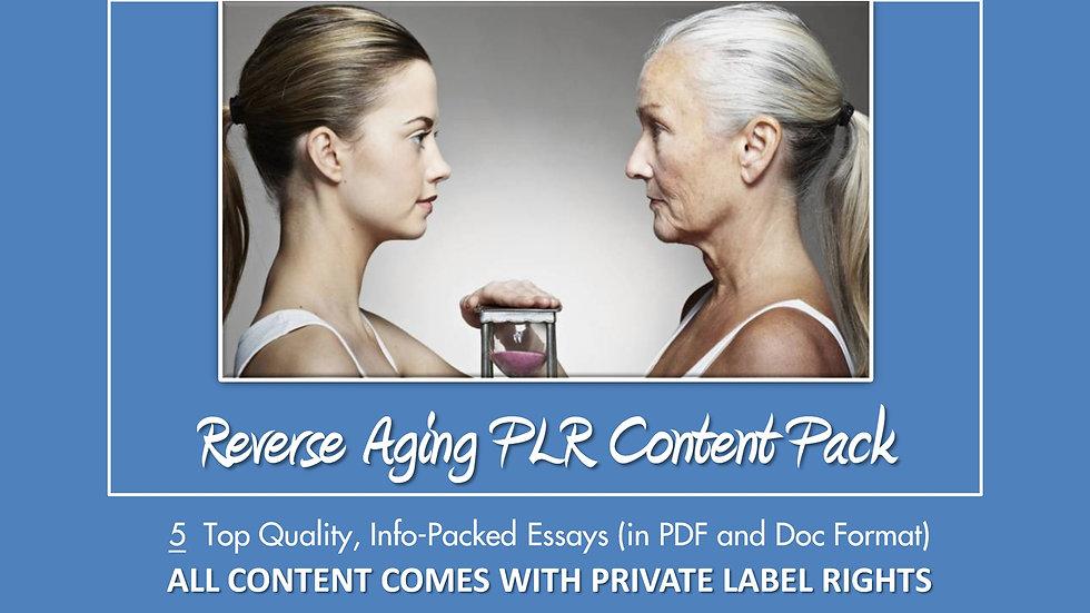Reverse Aging PLR Essay Pack