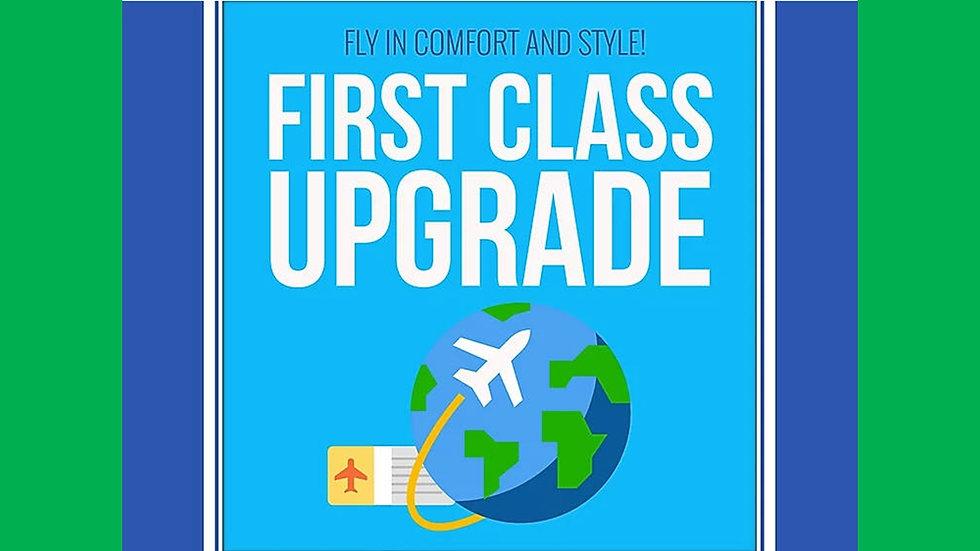 First Class Upgrade PLR Pack