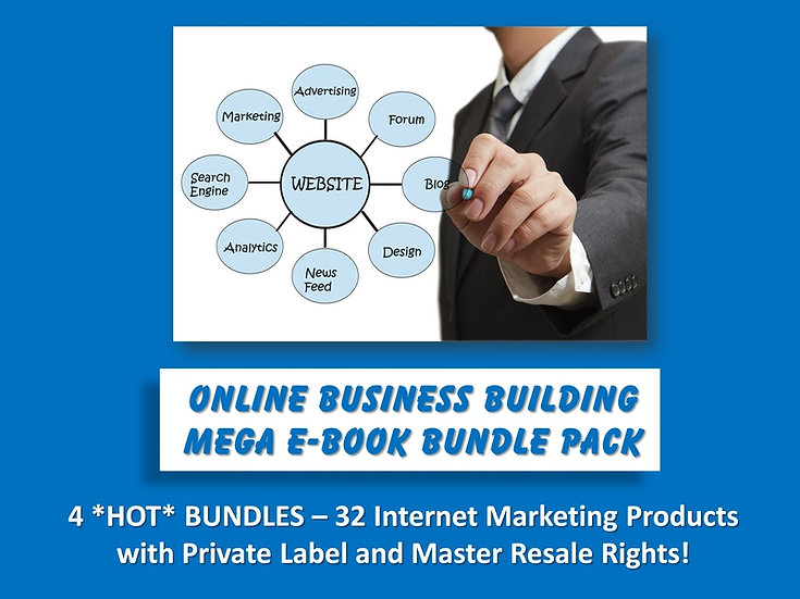 Online Business Building MEGA eBook Bundle Pack