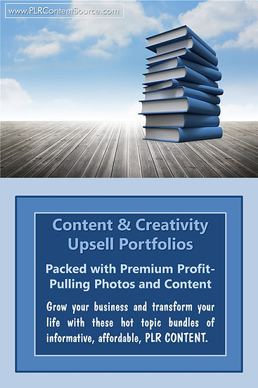 Content and Creativity Upsell Content Collection