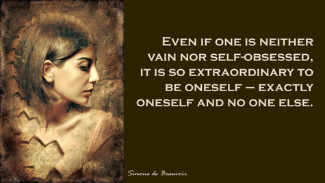 Even If One Is Not Vain...