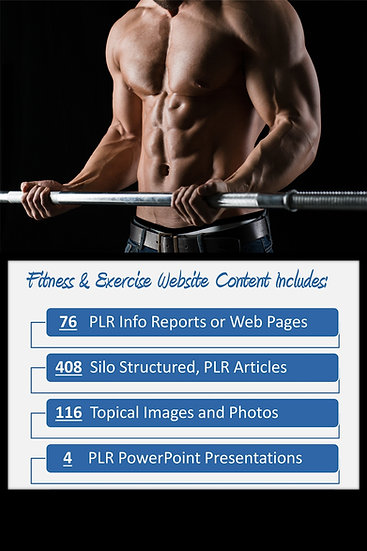 Fitness and Exercise Turnkey Content Sites