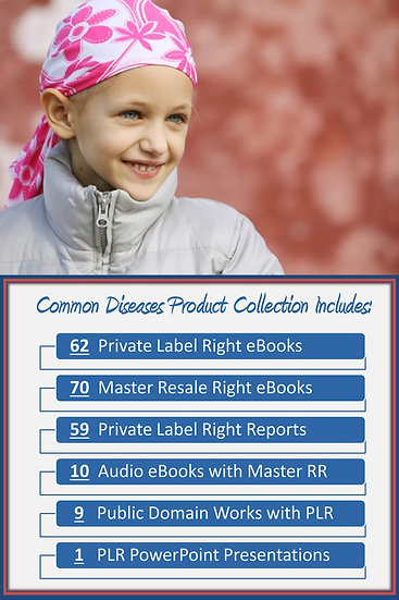 Common Diseases and Disorders Product Profit Packs