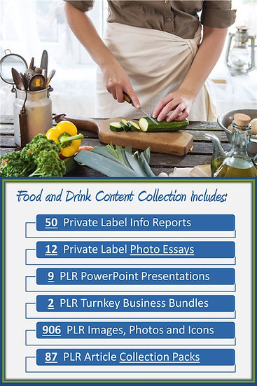 Food and Drink Content Portfolios