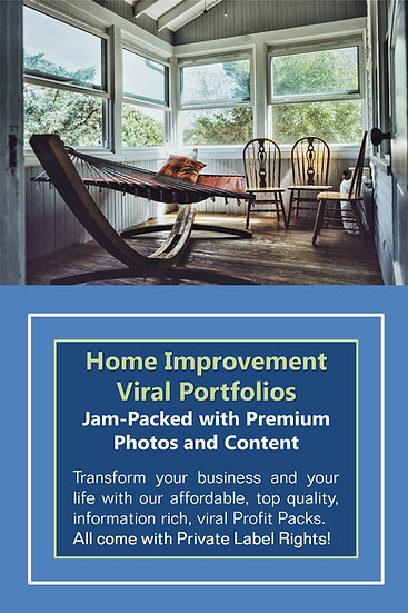 Home Improvement Niche Domination Pack