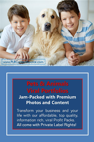 Pets and Animals Niche Domination Pack