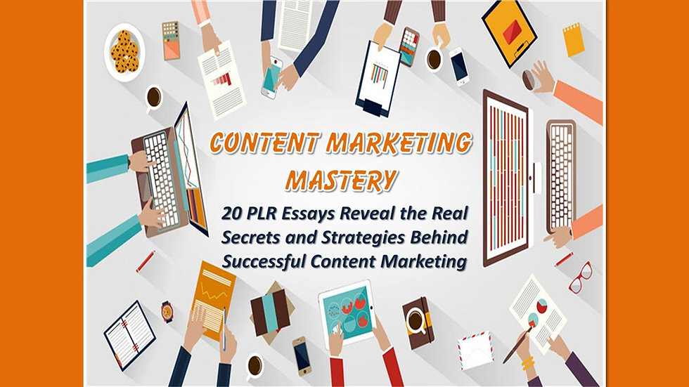 Content Marketing Mastery Private Label Essays