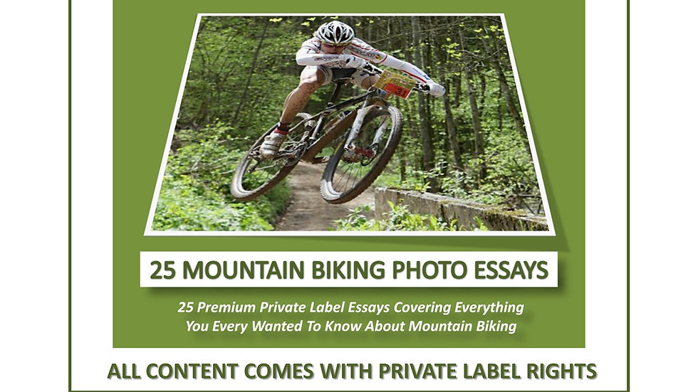 25 Mountain Biking Private Label Photo Essays