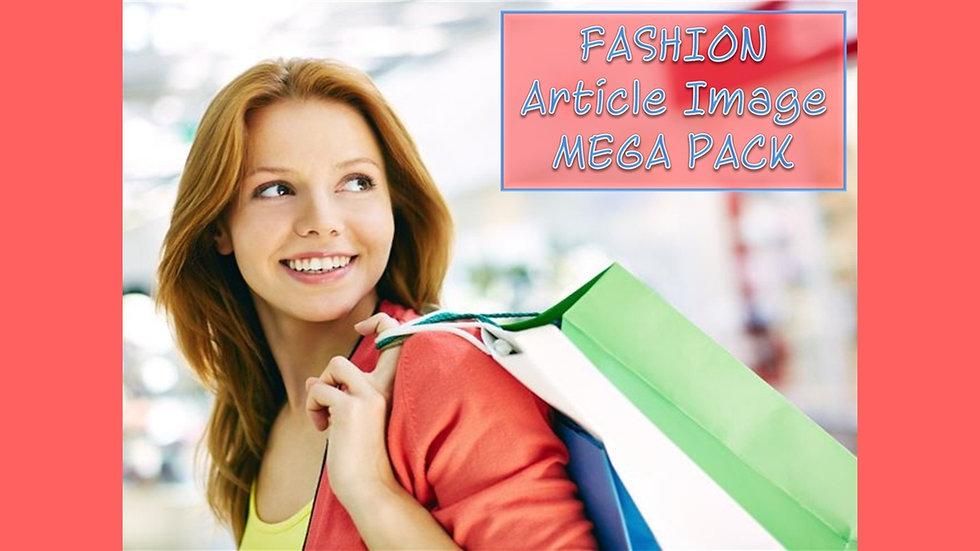 Fashion PLR Article and Image MEGA Pack