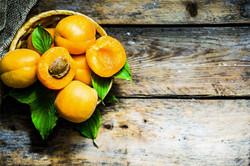 Rustic fruits, apricots