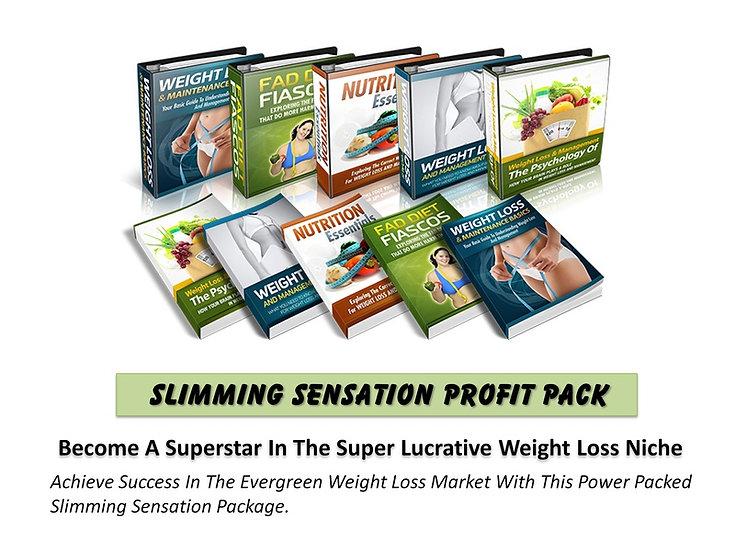 Slim Down Fitness MRR Product Bundle