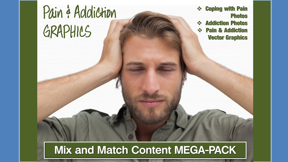 Coping with Pain and Addiction Mix and Match GRAPHICS Collection