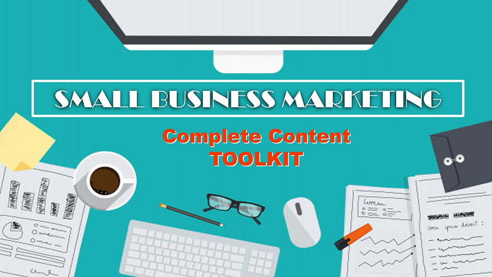 Small Business Marketing Content Toolkit