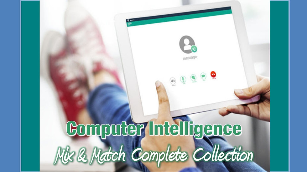 Computer Intelligence Mix and Match COMPLETE Collection