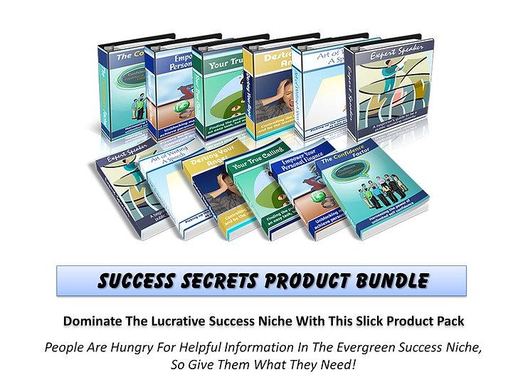 Success Secrets MRR Product Bundle