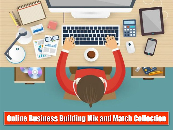 Online Business Basics MIX and MATCH GRAPHICS Collection
