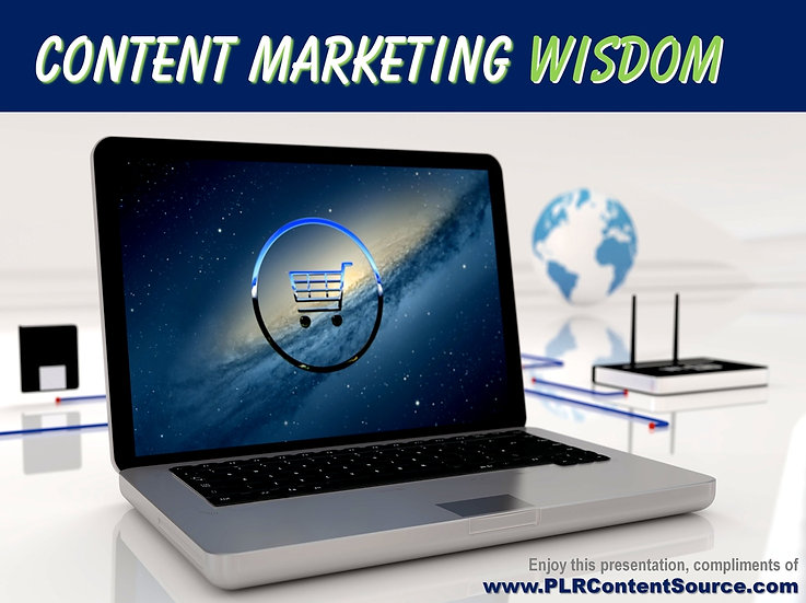 Content Marketing Words of Wisdom Video Quote Collection