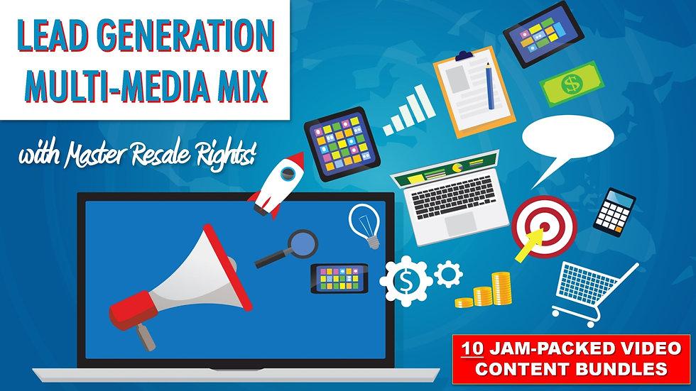 Lead Generation Multi-Media Mix