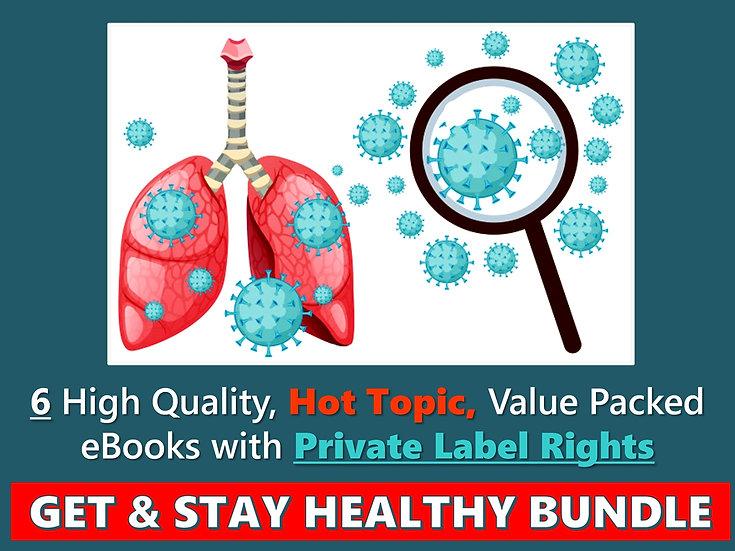 Get and Stay Healthy PLR eBook Bundle