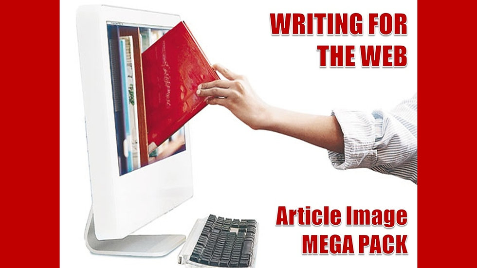 Writing For The Web Article and Image MEGA Pack