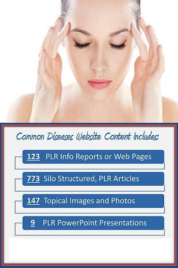 Common Diseases Turnkey Content Sites