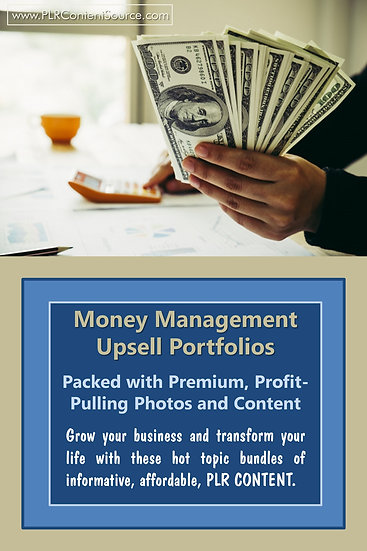 Money Management Upsell Content Collection