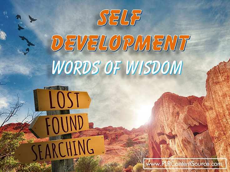 Self Development Words of Wisdom Video Quote Collection