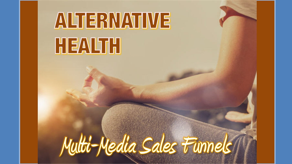 Alternative Health Mix and Match Multimedia Sales Funnels