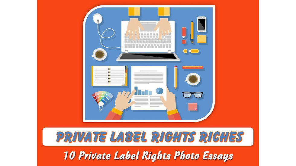 Private Label Rights Riches Private Label Content Pack