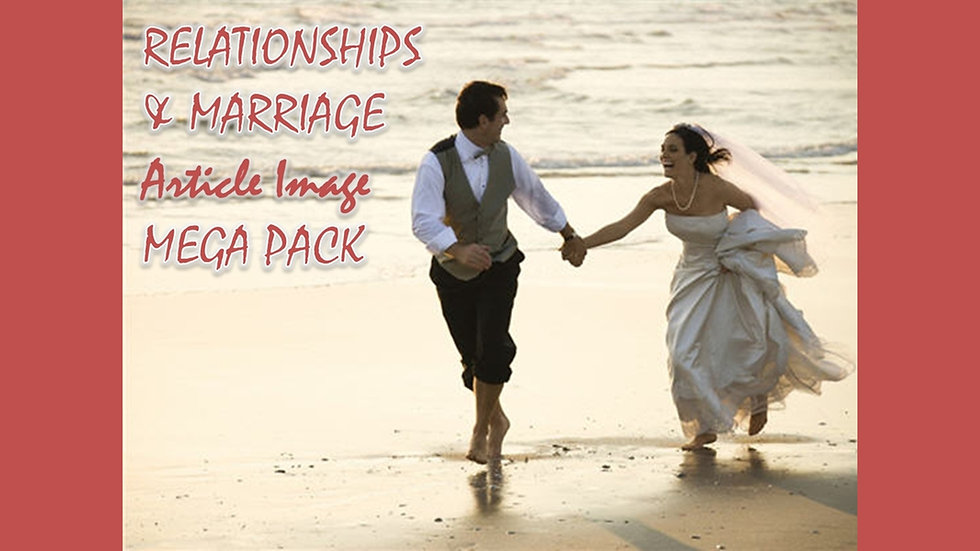 Relationships and Marriage PLR Article and Image MEGA Pack