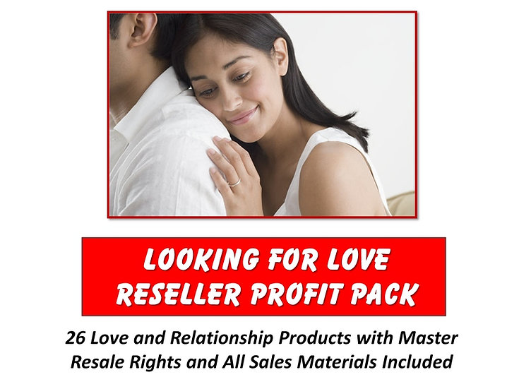 Looking For Love Reseller Profit Pack