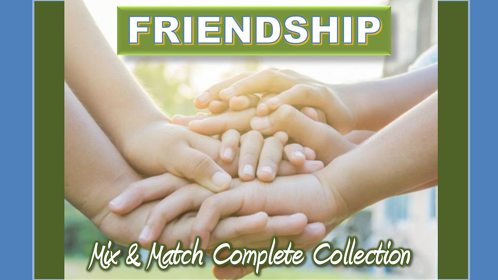 Friendship Mix and Match COMPLETE Collection