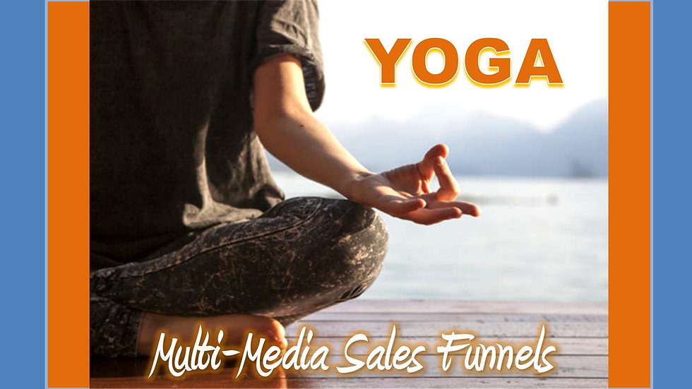 Yoga and Meditation Mix and Match Multimedia Sales Funnels