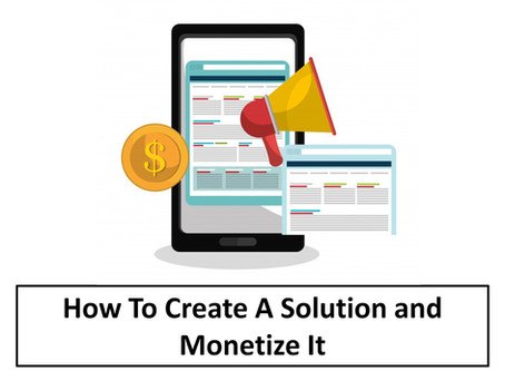 How to Create a Niche Solution and Monetize It