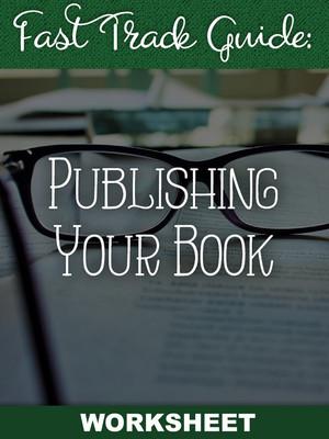 Publishing Your Book Worksheet