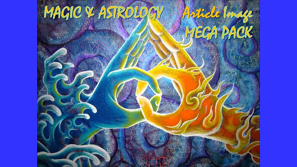 Magic and Astrology Article and Image MEGA Pack