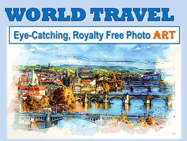 WORLD TRAVEL Photo Art Collection