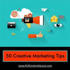 CREATIVE VISUAL MARKETING TIPS