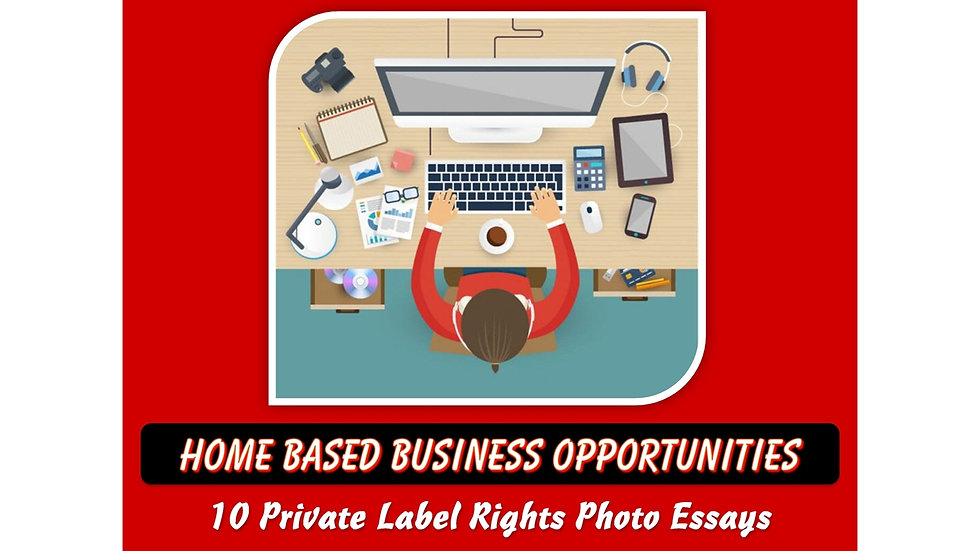 Home Based Business Opportunities Private Label Content Pack