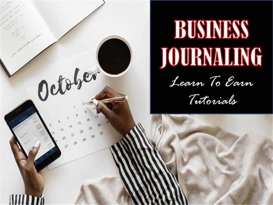 Business Journaling Learn To Earn Tutorials
