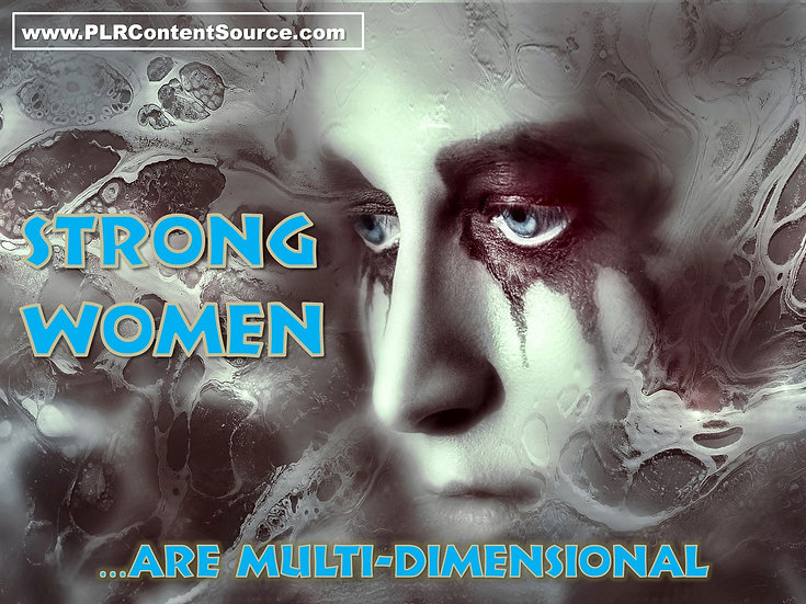 Strong Women Are Multi-Dimensional Video Art Quote Collection