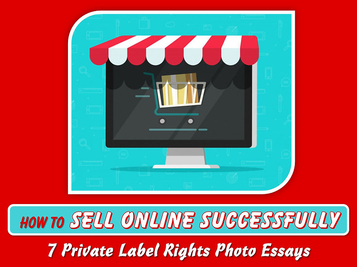 How to Sell Online Successfully Private Label Content Pack