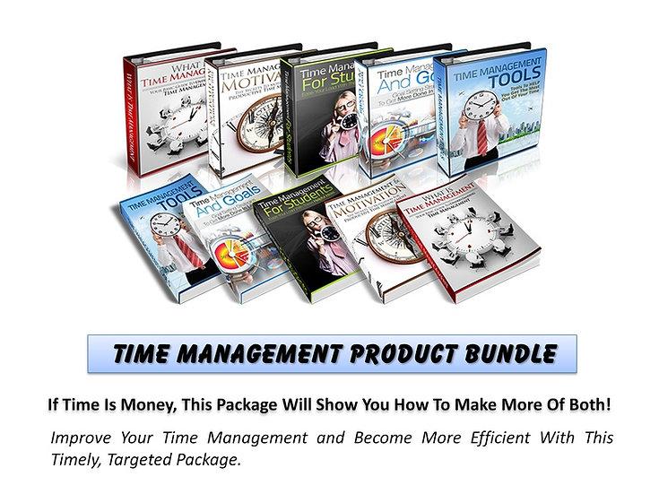 Time Management MRR Product Bundle