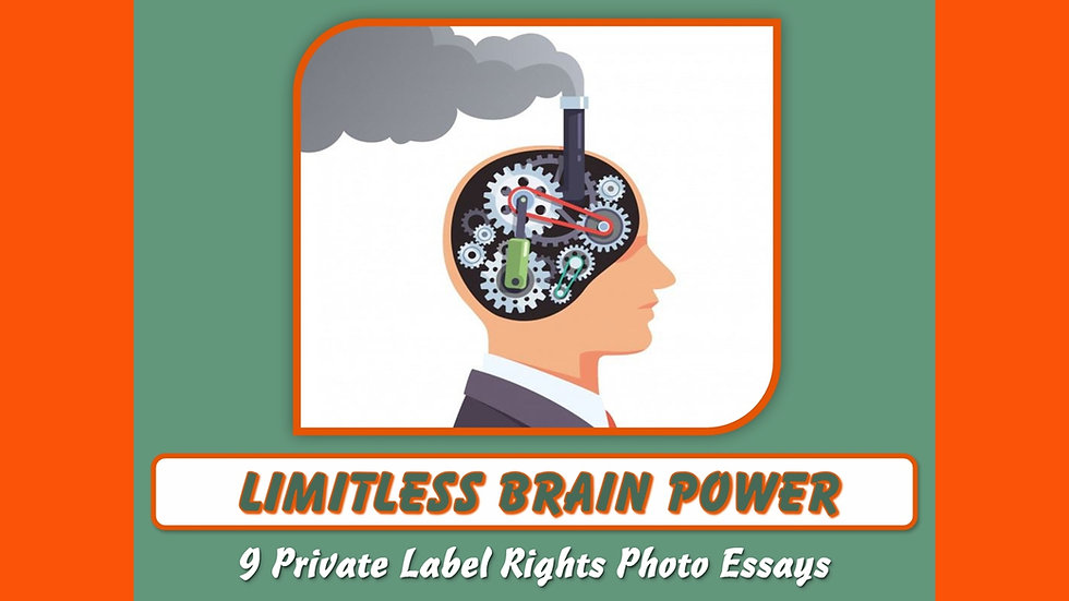 Limitless Brain Power Private Label Content Pack