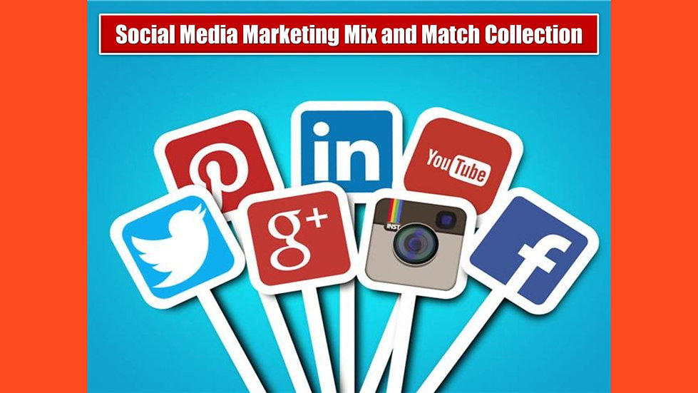 Social Media Marketing MIX and MATCH COMPLETE Collection