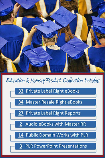 Education and Memory Product Profit Pack